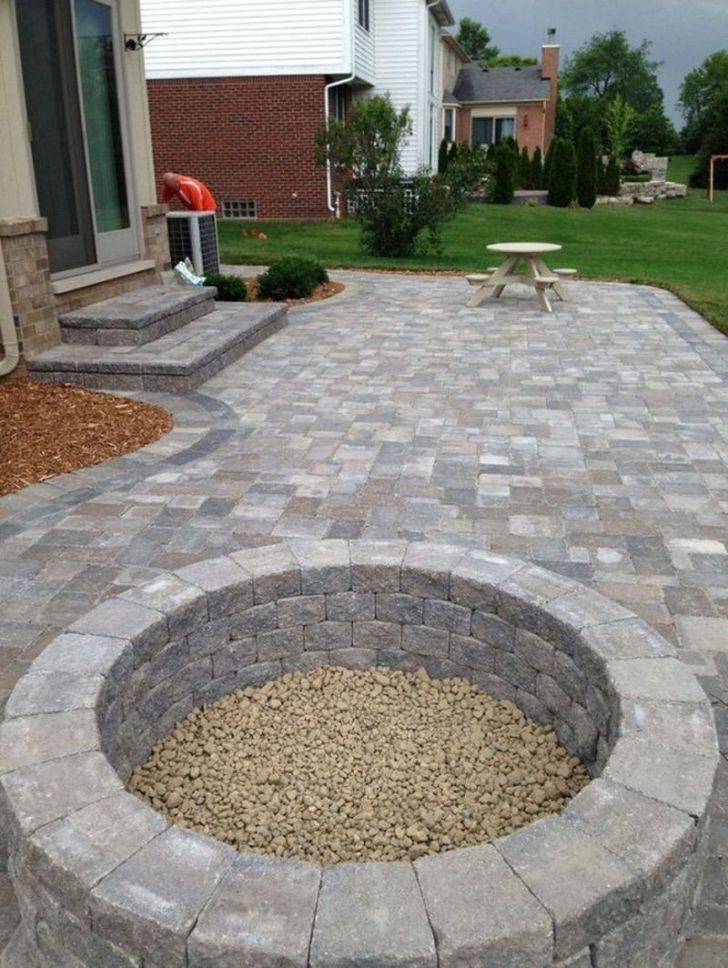 13+ Best Paver Patio Designs Ideas - DIY Design & Decor on Brick Paver Patio Designs id=86300