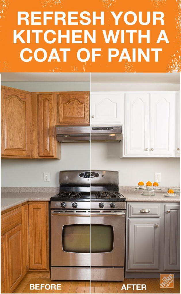 Refresh your kitchen with a coat of paint