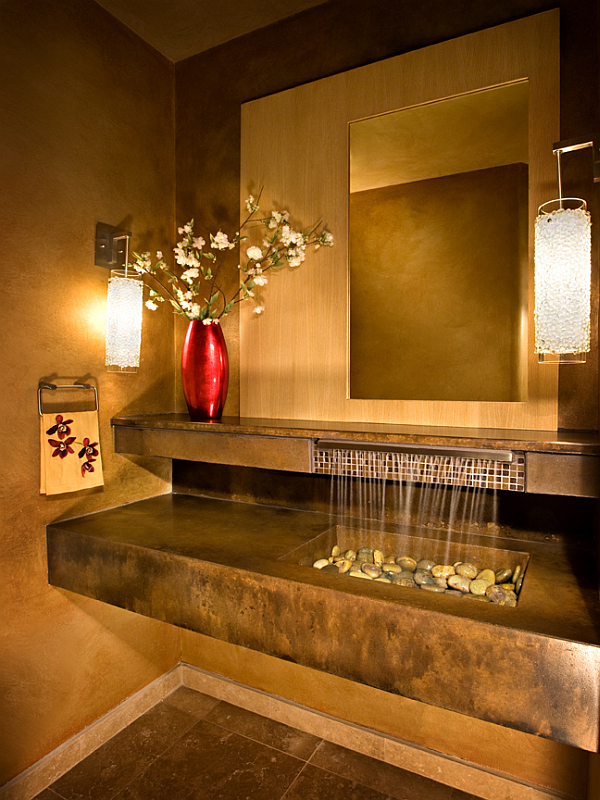 Asian Spa Bathroom Design Ideas