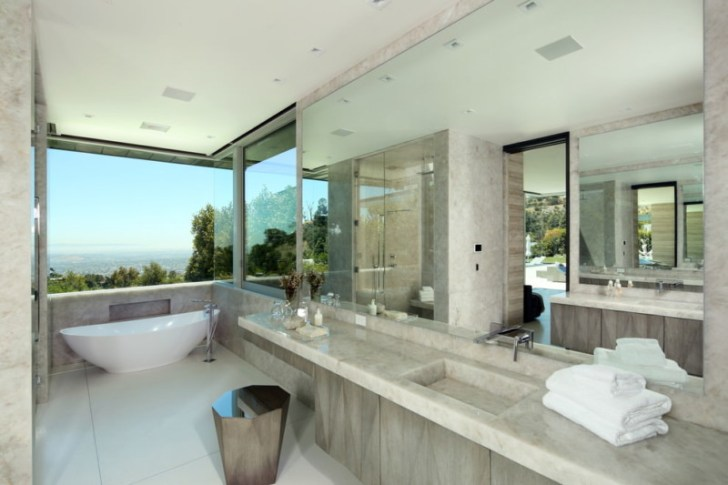 Dashing Spa Bathroom Design