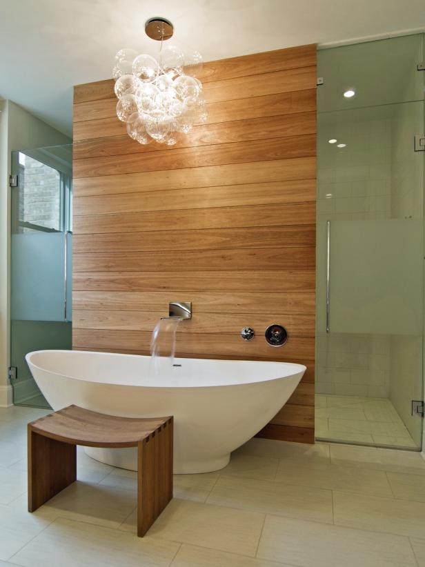Natural Elegance spa bathroom design