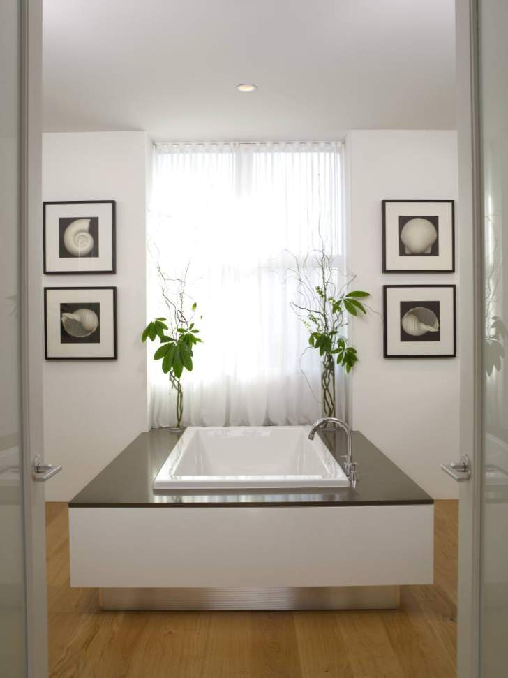 Serene Spa Bathroom Design