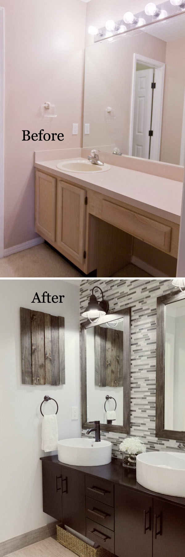 bathroom remodel before and after. Stunning Master Bathroom Remodel Before After And A