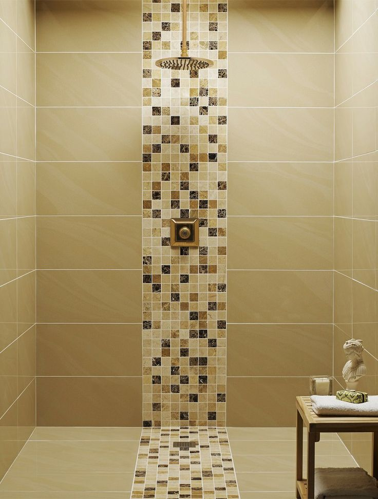 Yellow Bathroom Tile Design