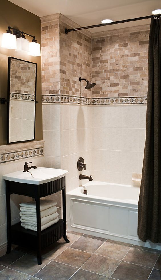 Bathroom Tile Design Ideas Images Part - 24: Best 13+ Bathroom Tile Design Ideas