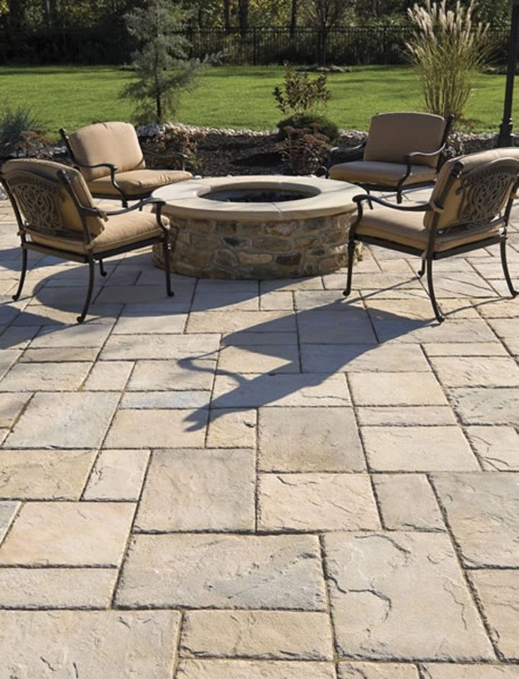 13 best paver patio designs ideas diy design decor for Paver patio ideas pictures