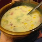 Comfort food: Grandma's Corn Chowder
