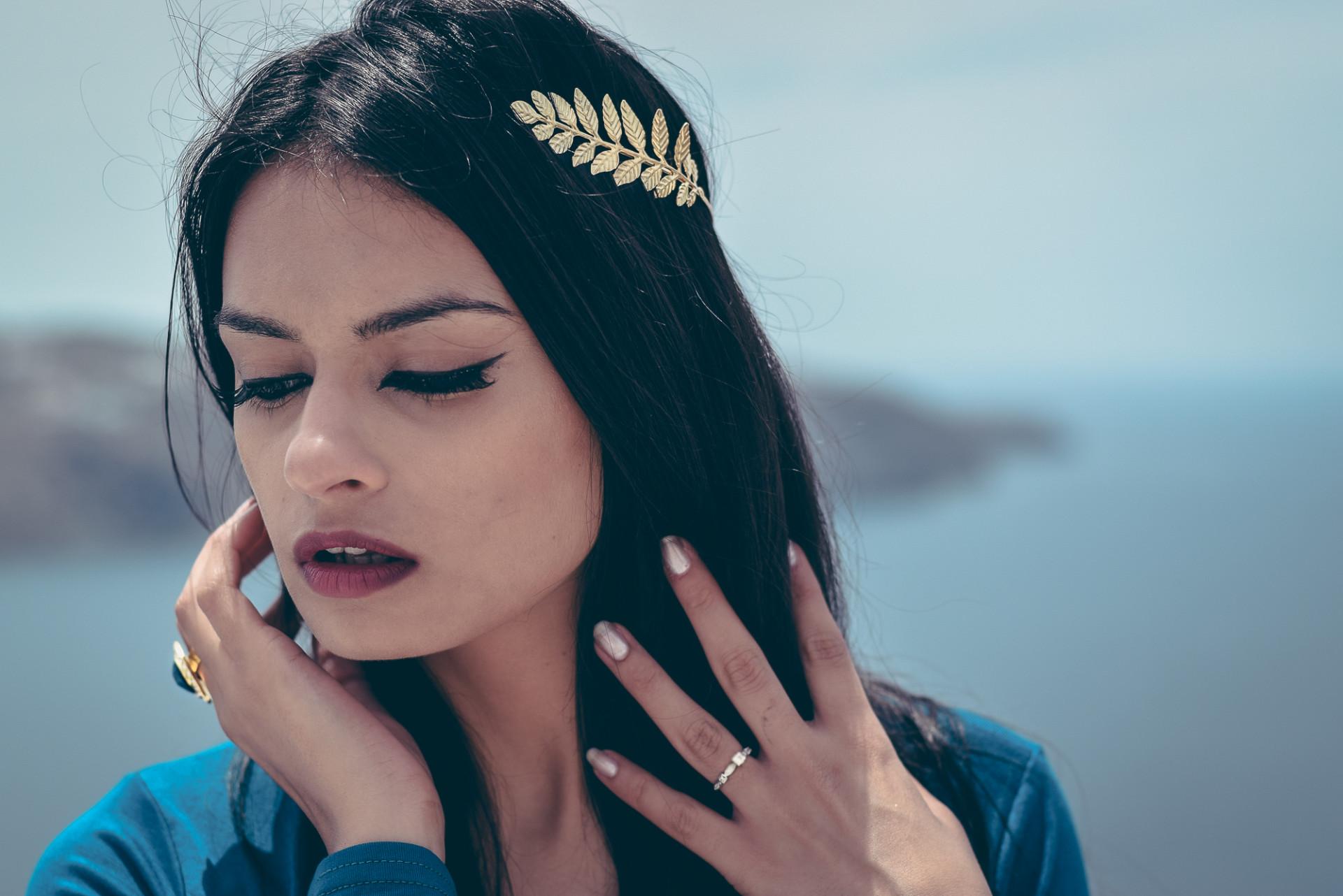 Greek fashion shoot