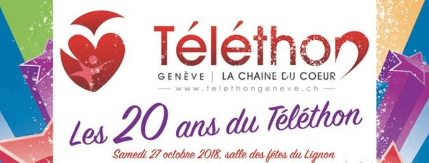 Shravaka, Téléthon's 20 years – support event