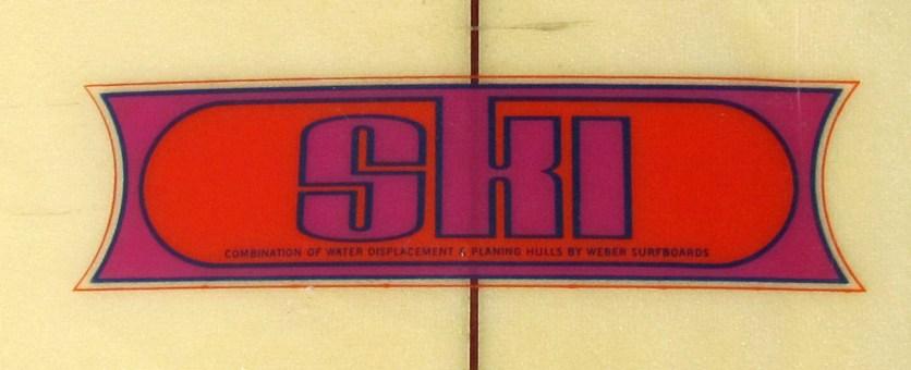 Dewey Weber SKI logo red
