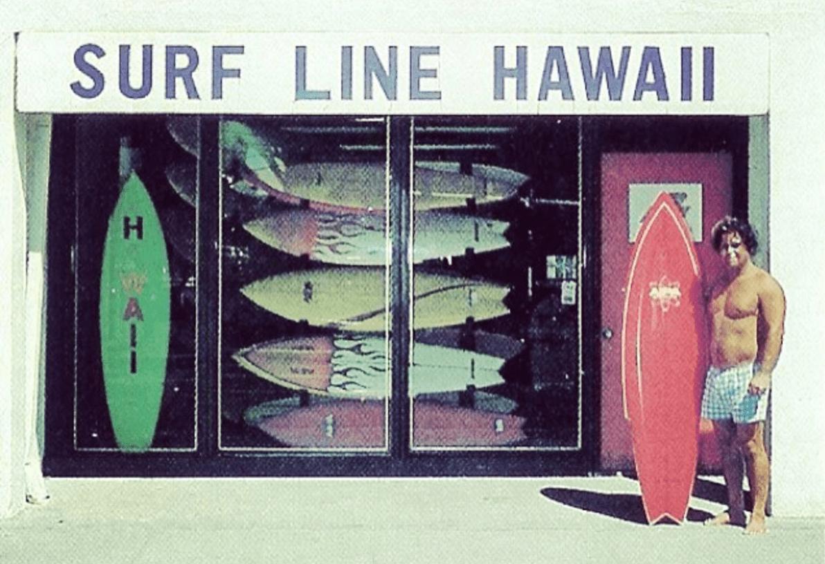 Ben Aipa Surf Line Hawaii Sting
