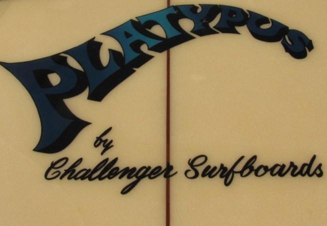 Challenger Surfboards Platypus