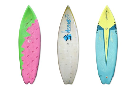 Shawn Stussy Surfboards