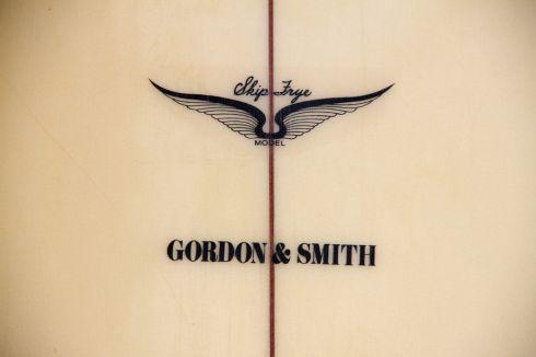 Skip Frye Model for Gordon & Smith Logo