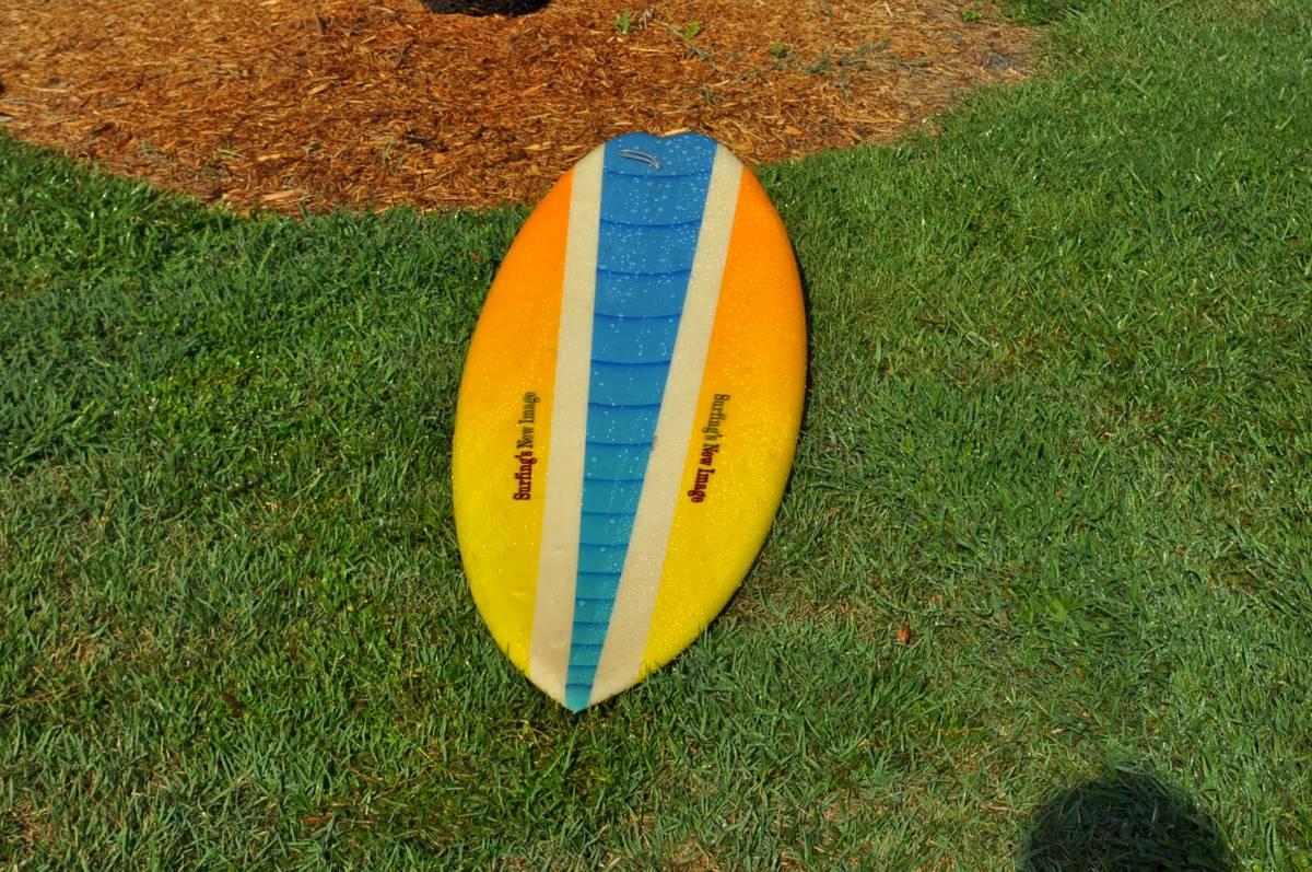 Surfing's New Image Rick Hamon 80s Single Fin3