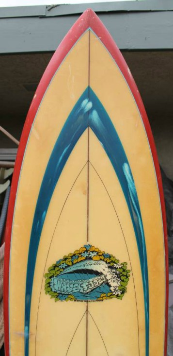 Vintage Wave Tools Surfboard 3