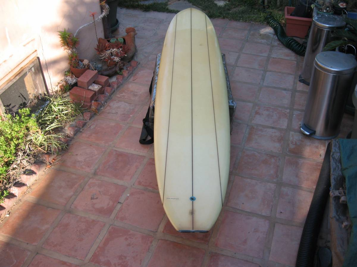 Hansen The Hustler Model Longboard Triple Stringer 9'10 6