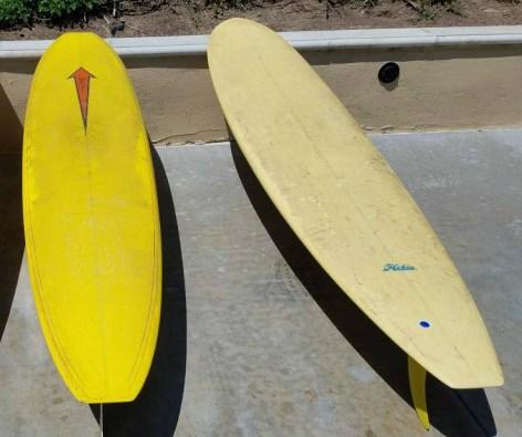 Square Nose Herbie Fletcher Surfboard 1