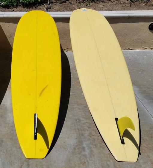Square Nose Herbie Fletcher Surfboard