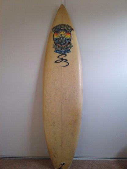 Christian Fletcher Surfboards Steve Boysen Thruster 6'1 2