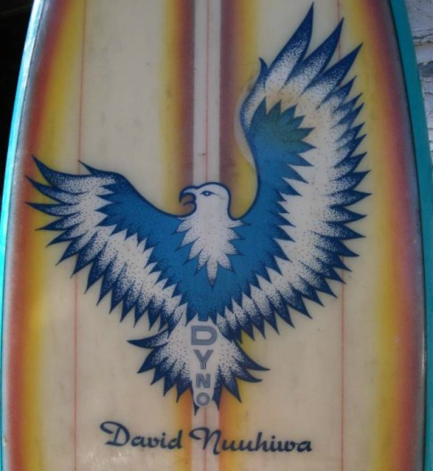 David Nuuhiwa Surfboards Dyno 1970s Single Fin 4