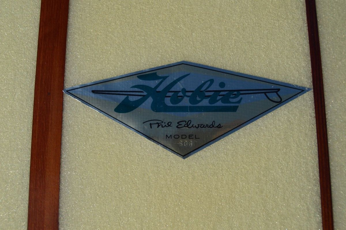 Original Hobie Phil Edwards Model Surfboard