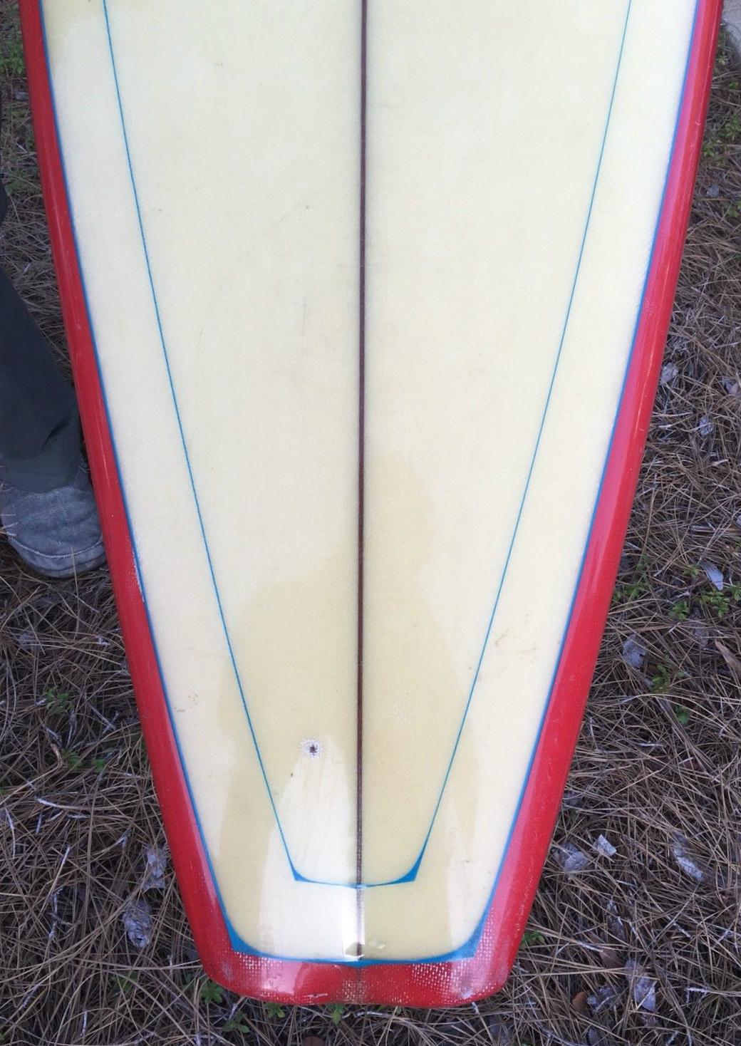 Bing Bonzer Surfboard Bottom