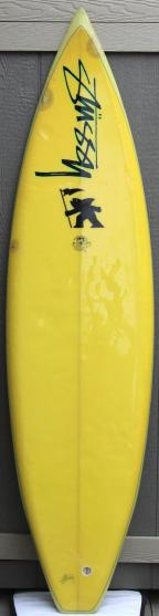 Shawn Stussy for Michael Tomson California Gold Surf Auction 1