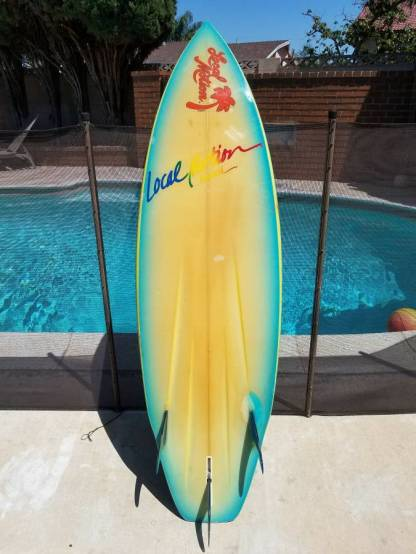 Eighties Local Motion Surfboards Pat Rawson1