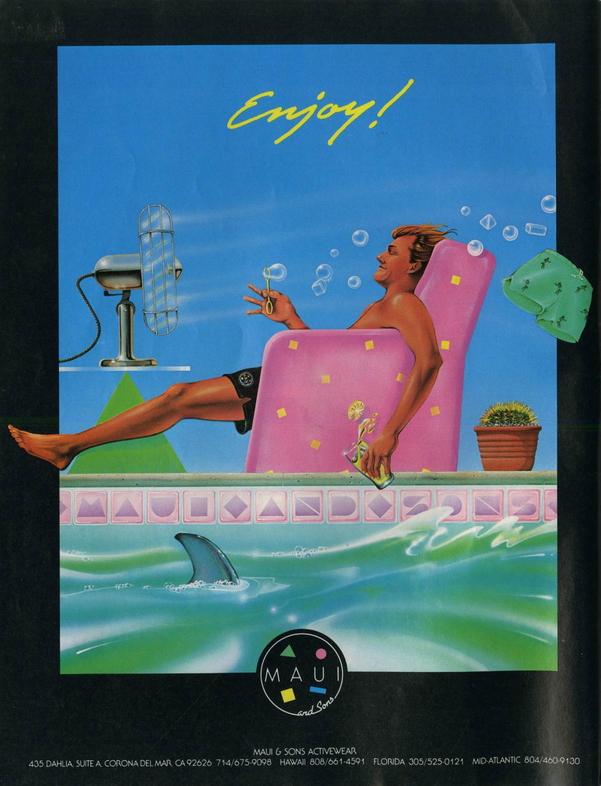 Eighties Maui and Sons Ad: Sagas of Shred