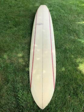 Rick Barry Kanaiaupuni Model Longboard 9'11 2