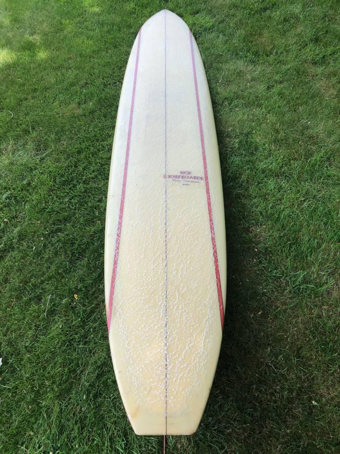Rick Barry Kanaiaupuni Model Longboard
