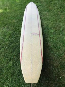 Rick Barry Kanaiaupuni Model Longboard 9'11 3