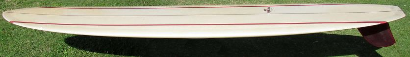 Rick Barry Kanaiaupuni Model Longboard Restored 1
