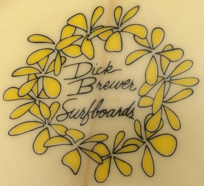 Vintage Dick Brewer Seventies Single Fin