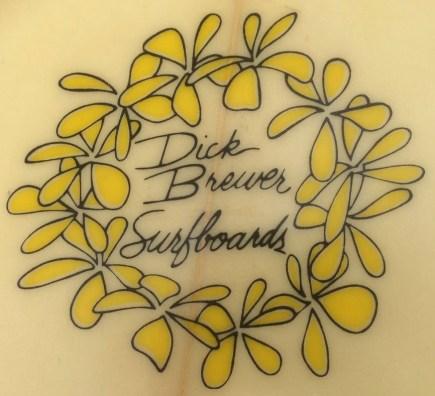 Vintage Dick Brewer Logo