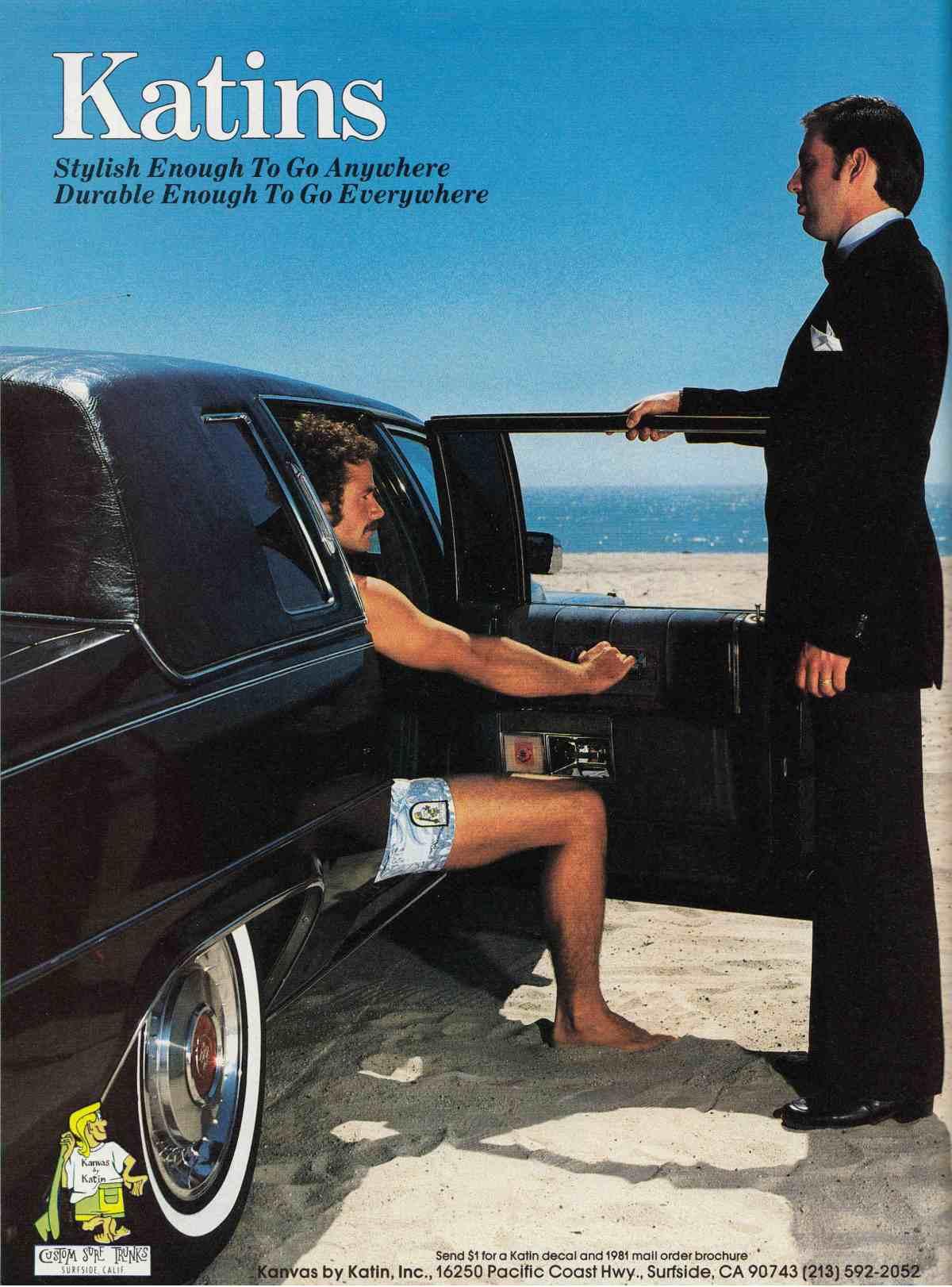 Vintage Eighties Katin Ad: Sagas of Shred