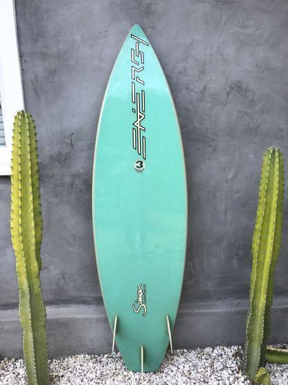 Energy Surfboards Thruster by Frank Latta 2