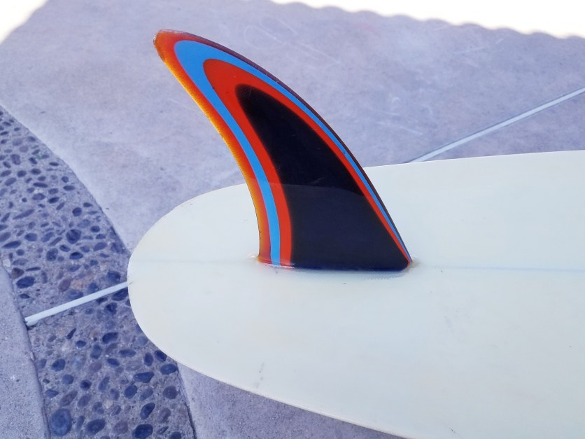 Seventies Lightning Bolt Single Fin Roy Stamm 1