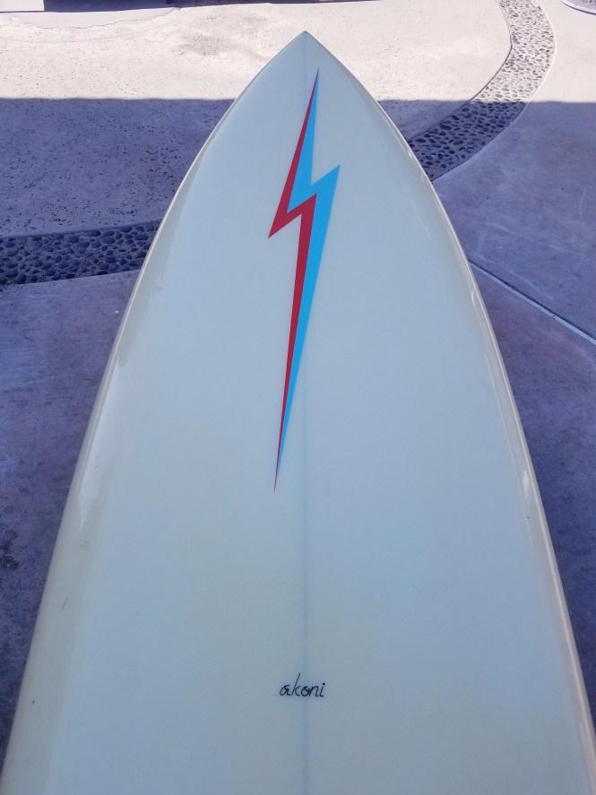 Seventies Lightning Bolt Single Fin Roy Stamm 4