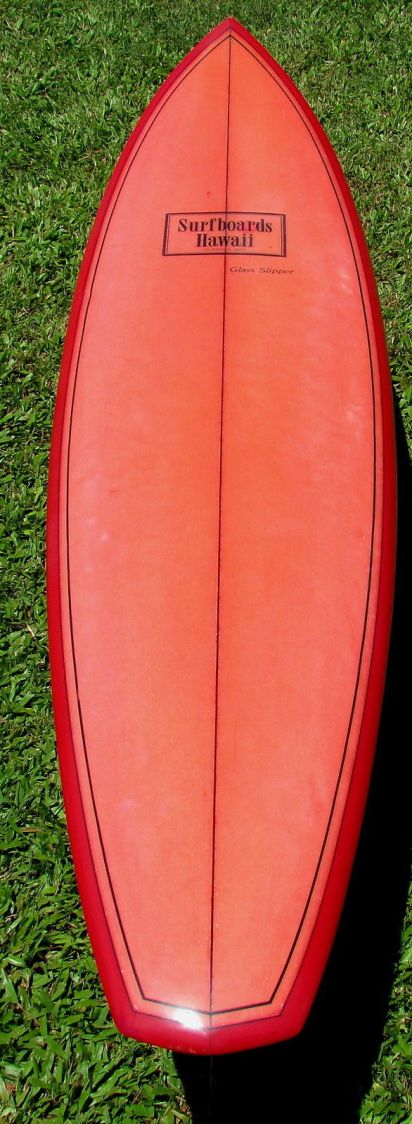 Surfboards Hawaii Glass Slipper Model 1