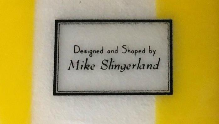 Surfboards Hawaii Mike Slingerland Single Fin Logo