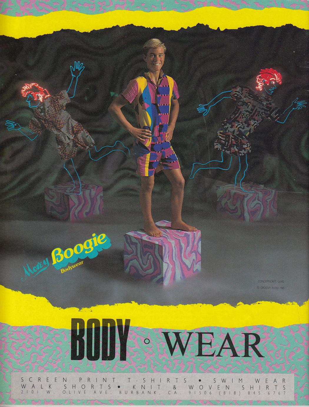 Eighties Morey Boogie Ad