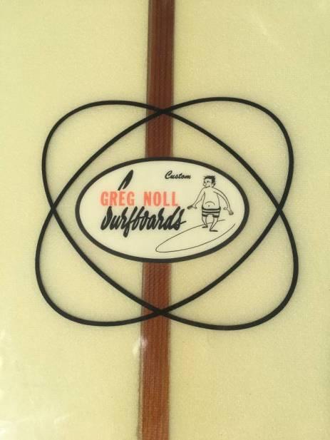 Greg Noll Slot Bottom Longboard Sixties 10
