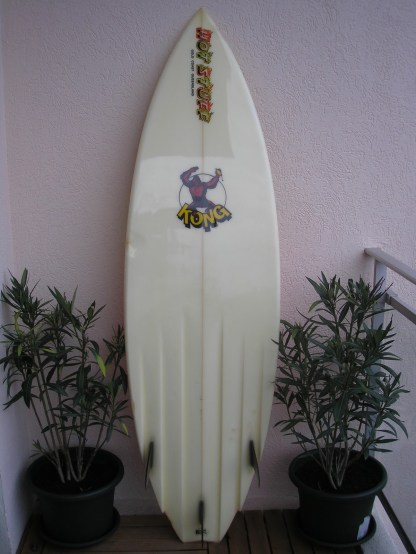 Hot Stuff Kong Gary Elkerton Vintage Surf France 1