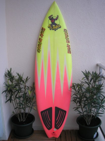 Hot Stuff Kong Gary Elkerton Vintage Surf France 2