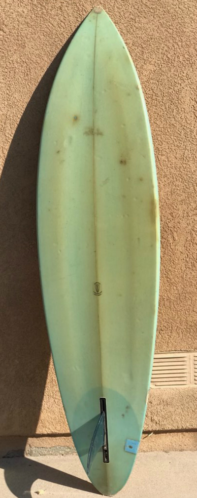 Channel Islands Surfboards Tri Plane Hull Bottom