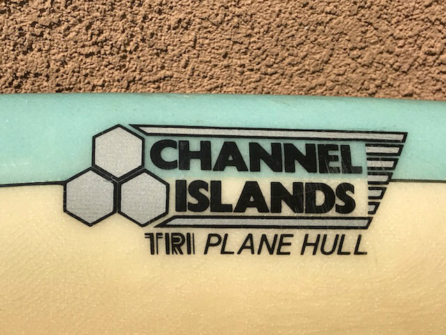 Channel Islands Al Merrick Tri Plane Hull