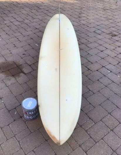 Channin Diffenderfer Surfboard Hull 8'3_