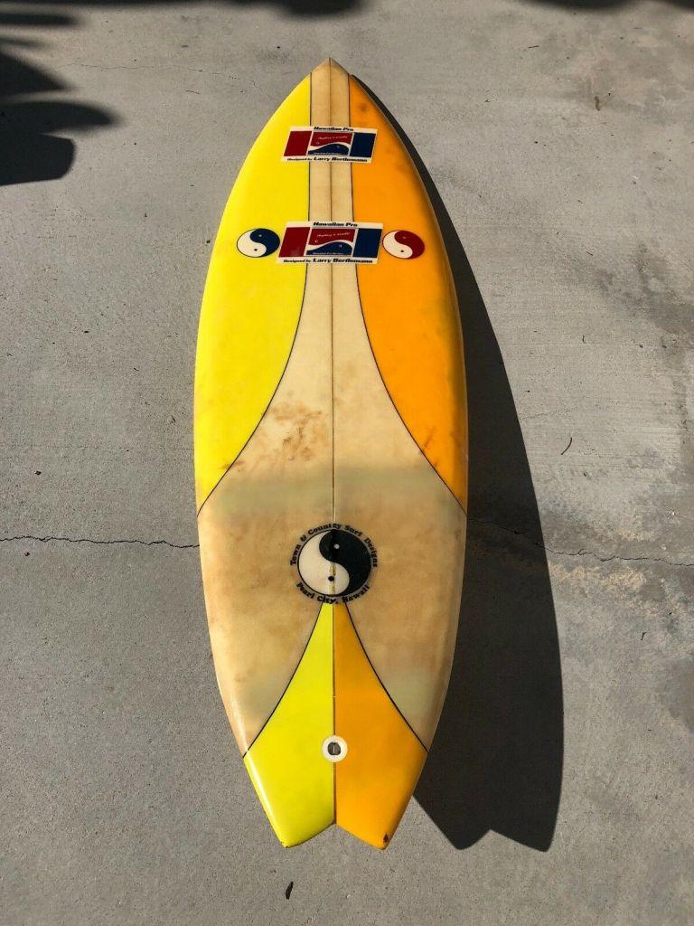 Hawaiian Pro Designs Larry Bertlemann Surfboard 2